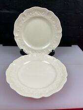 More details for 2 x royal creamware classics dessert / small dinner plates 9.5