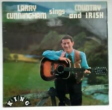 "Larry Cunningham sings Country and Irish 12"" LP King KGL4007"