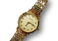 Orologio Da Polso Donna KB-5557-B Analogico Quarzo Classico Oro Quad Oro lac