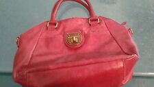 ELLIOTT LUCCA POPPY RED quality leather sachel