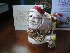 Harmony Kingdom Mail Shot 2017 Santa & Miniature Reindeer Uk Made Sgn