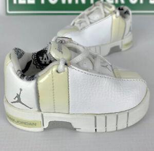 Air Jordan flight club LA TE 2 Size 3C Toddler TD Team Elite White Grey