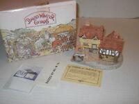 1980 David Winter Cottages Market Street + COAs + Orig Box Hand Made England