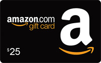 Amazon US $25 USD e-giftcard Instant Email Delivery