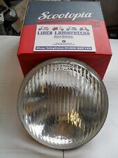 Lambretta scootopia li headlight glass and reflector,innocenti cev marked.