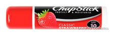 Chapstick Classic Strawberry Lip Lips Balm Moisturise SP10