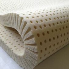 "New! Pure Green 100% Natural Latex Mattress Topper 2"" King Size Soft Topper"