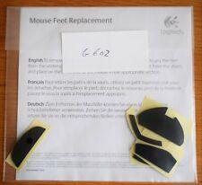 Logitech G602 Gaming Mouse Feet / Skate Overlays (0.28mm)
