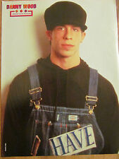 New Kids on the Block, Danny Wood, Full Page Vintage Pinup