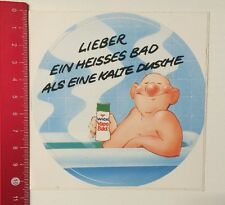 Decal/Sticker: Wick Vapo Bathroom prefer a hot bath (100516133)