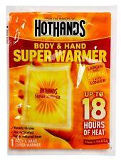 6x Wärmekissen Taschenwärmer Handwärmer Körperwärmer Hot Hands 18STD