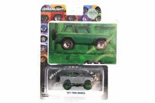 CHASE CAR - 1971 Ford Bronco, Green 29942 1/64 Scale Diecast Car