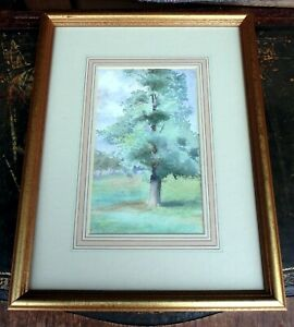James Aumonier RI RA circa 1880 original signed watercolour woodland landscape