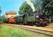"""AK, Rinteln, DEW-Dampfzug mit Lok """"Mevissen 4"""" in Rinteln Nord, um 1985"""