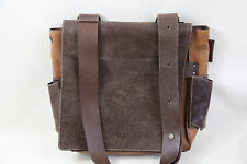 SCOUT Leather Diaper Bag