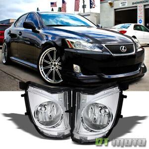 For 2006-2010 Lexus IS250 IS350 Bumper Fog Lights Lamp Left+Right 06 07 08 09 10