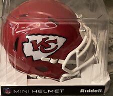 🔥PATRICK MAHOMES Signed KANSAS CITY CHIEFS Mini Speed Helmet W/COA🔥