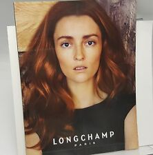 Longchamp Catalog 2011 Brochure Paris Purses Handbags Audrey Marnay