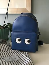 nwt anya hindmarch mini eye backpack blue $1450