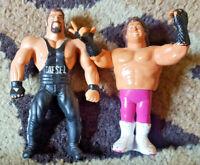 WWF Hasbro Series 1 Brutus The Barber Beefcake and Bendem Diesel WE SHIP FAST!!