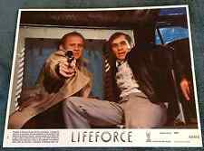Lifeforce 1985 8x10 Color Movie Lobby Card PETER FIRTH, STEVE RAILSBACK