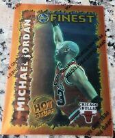 MICHAEL JORDAN 1995 Topps Finest Hot Stuff HS1 Chicago Bulls HOF 6x Champion MVP