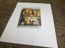 WWE Legends of WrestleMania (Sony PlayStation 3, 2009) new ps3