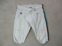 Nike Miami Dolphins Pants Size 44 White Football Team Issue Game Worn Used #97