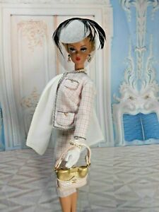 OOAK FITS Vintage Barbie Silkstone Reproduction, Fashion Royalty Outfit  Mary