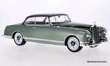 Mercedes 300B Pininfarina metallic-hellgrün/metallic-dunkelgrün 1955 1:18 BOS