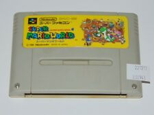 Super Famicom: Super Mario World SHVC-MW (cartucho/cartridge)