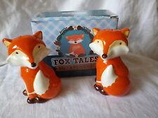 Salz und Pfefferstreuer Salz und Pfeffer Set Fuchs Füchlein Fox Tales