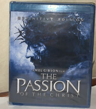 New The Passion of Christ Blu ray 2 Disc Set Movie Mel Gibson definitive edition