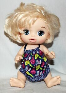 """Baby Alive Sweet Blonde Baby Girl Doll 13"""" Tall Hasbro #E058681861"""