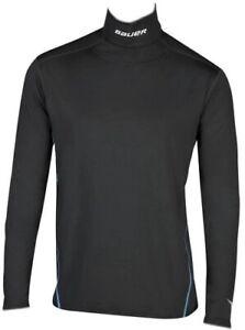 Bauer Core compression Long sleeve Kevlar Neck Shirt base layer