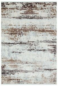 """7'6"""" x 10'0"""" ft. Trend Beige-Pink Contemporary Area Rug"""
