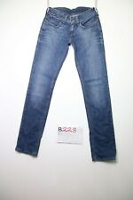 Levi's (Cod.B228) Tg.40 W26 L32 skinny donna jeans usato
