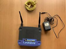 Linksys WRT54G 2.4 GHZ 54 Mbps 4-Port Wireless G Broadband Router V6 PREOWNED