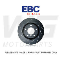 EBC 260mm Ultimax Grooved Rear Discs for VOLKSWAGEN Caddy Life 2.0 TD 2007-2010