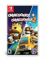 Overcooked 1 Special Edition + Overcooked 2 Nintendo Switch - Brand New