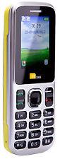 TTsims TT130 Dual 2 Sim Teléfono Móvil Barato Cámara Bluetooth Doble Amarillo más barato