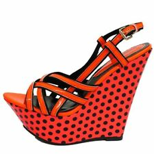 Women's Spotted Synthetic Sandals and Beach Shoes