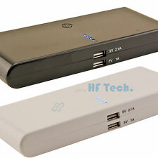 Power Bank 20.000mAh externe Chargeur De Batterie Dual 2x USB Portable Samsung