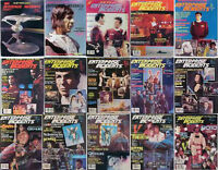 Set of 15  ENTERPRISE INCIDENTS Magazine/Fanzine Lot-Star Trek 1980s