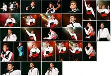 25 Barry Manilow colour concert photographs - Birmingham on 6th November 1994