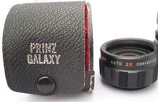 PRINZ GALAXY  2X  Auto Lens Converter - Vintage SLR Photography