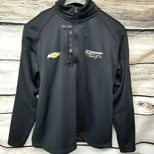 OGIO Ed Carpenter Indycar Mens Size Large Black Jacket Racing Chevrolet Indy 500