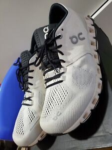 Men's ON CLOUD X Running Shoes White/Black SIZE 9.5 Model 20.0006