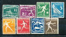 Nederland  212 - 219 gebruikt
