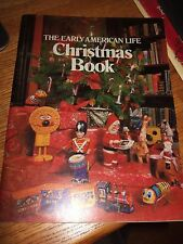 vintage the early american life christmas book magazine 1981 craft ideas